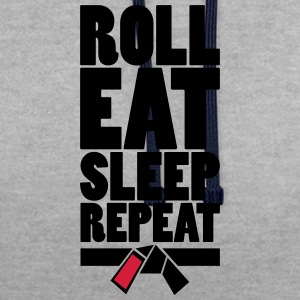 RollEatSleepRepeat - Sweat-shirt contraste