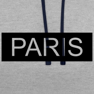 Paris - Sweat-shirt contraste