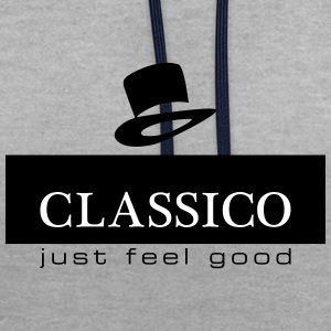 classico - Contrast Colour Hoodie