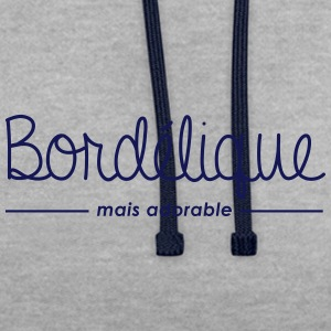 Bordélique mais adorable - Sweat-shirt contraste