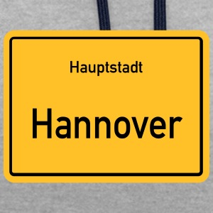 City of Hannover - Contrast Colour Hoodie