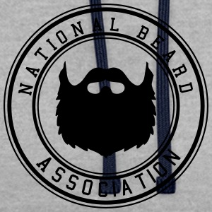 National Beard Association - Kontrastluvtröja
