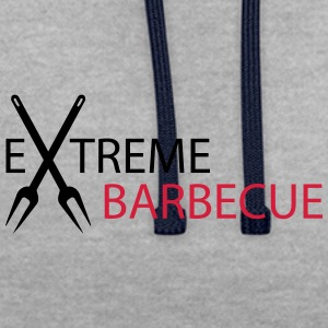 Extreme Barbecue - Contrast Colour Hoodie