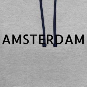 Amsterdam - Contrast Colour Hoodie