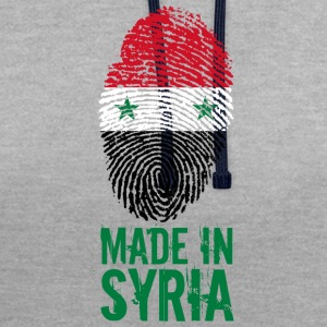Made in Syrien / Made in Syrien الجمهورية - Kontrastluvtröja