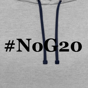 # NoG20 - Sweat-shirt contraste