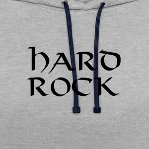Hard rock - Sweat-shirt contraste