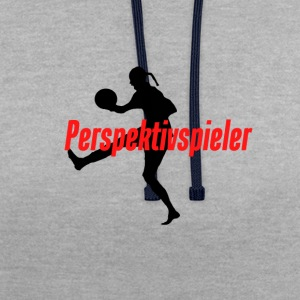 perspective player - Contrast Colour Hoodie