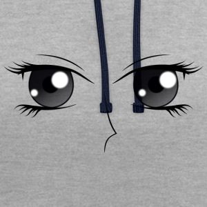 Les yeux (D) - Sweat-shirt contraste