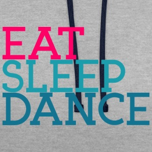 Eat Sleep Dancing - Contrast Colour Hoodie