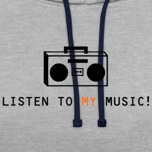 My Music - Contrast Colour Hoodie