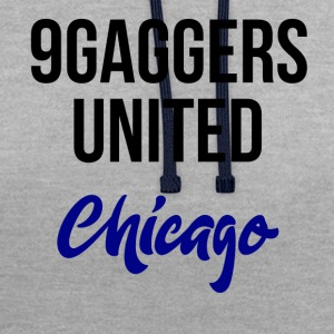 9gagger Chicago - Contrast hoodie