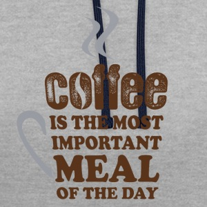 Coffee Lovers - Sweat-shirt contraste
