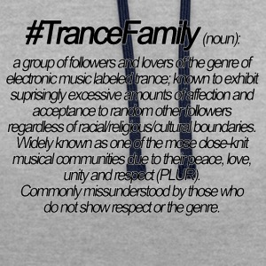 Definition of Trance Family - Contrast Colour Hoodie