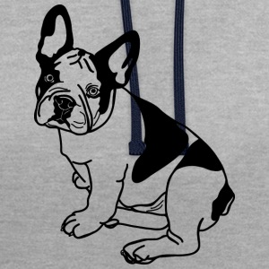 Chien - Sweat-shirt contraste