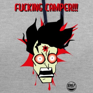 I hate camper #2 (bloody) - Sweat-shirt contraste
