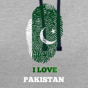 J'AIME LE PAKISTAN - Sweat-shirt contraste