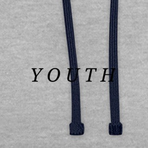 Youth - Contrast Colour Hoodie