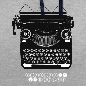 TYPEWRITER_1 - Sweat-shirt contraste