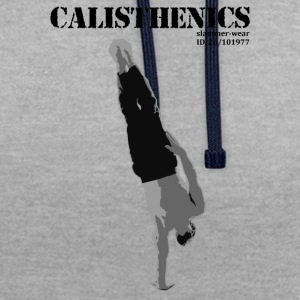 Calisthenics ONE ARM HANDSTAND - Contrast Colour Hoodie