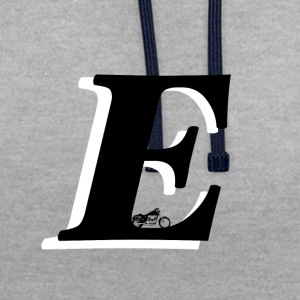 E alphabet - Sweat-shirt contraste