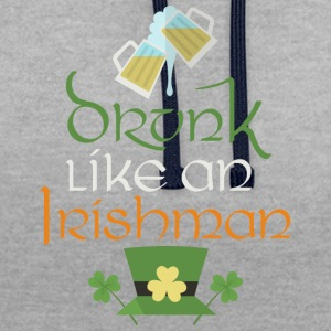 lahe stpatricks Irlandais - Sweat-shirt contraste