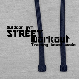 Street workout - Contrast Colour Hoodie