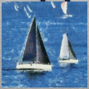 Racing Yachts. - Sweat-shirt contraste