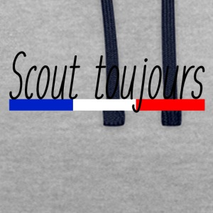 Scout toujours - Sweat-shirt contraste