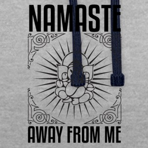 NAMASTE IN BED ELEPHANT - Contrast Colour Hoodie