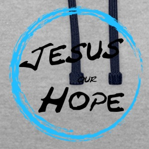 jesus our hope - Sweat-shirt contraste