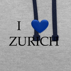 Zurich - Sweat-shirt contraste