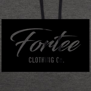 Fortee Rectangle - Sweat-shirt contraste