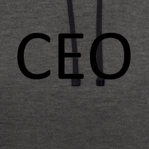CEO - Contrast Colour Hoodie