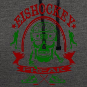 EISHOCKEY FREAK - Contrast Colour Hoodie