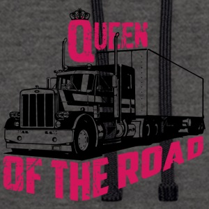 Queen Of The Road - Contrast Colour Hoodie