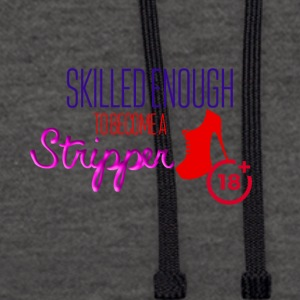 Being a stripper - Kontrast-Hoodie
