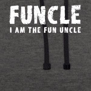 funcle oncle amusant - Sweat-shirt contraste