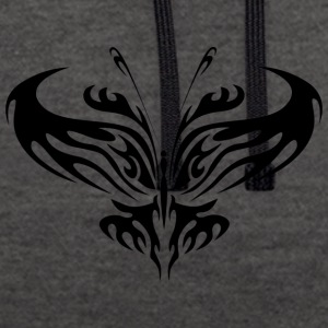 Tribal Butterfly Tattoo - Sweat-shirt contraste