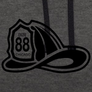 Chicago 88 - Contrast hoodie
