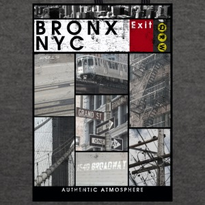 Bronx Nyc - Sweat-shirt contraste