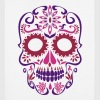 sugar skull day of the dead - Mouse Pad (vertical)