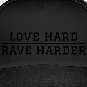 liefde Hard - harder rave festival - Trucker Cap