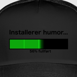 Installerer humor... - Trucker Cap
