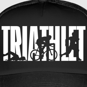 Triathlet - White - Trucker Cap