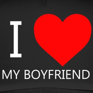 I LOVE MY BOYFRIEND T-SHIRT - Trucker Cap