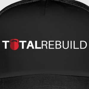 TR Long White - Trucker Cap
