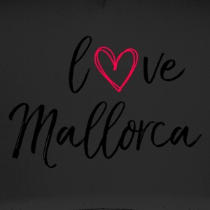 love Mallorca in black - Trucker Cap