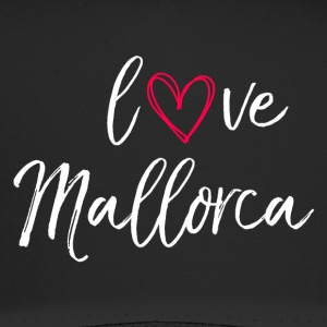 love Mallorca in white - Trucker Cap