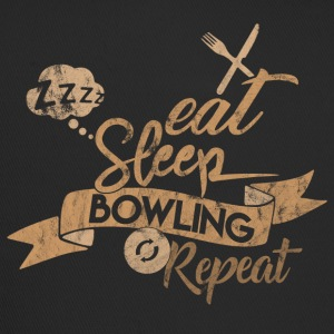 EAT SLEEP BOWLING REPEAT - Trucker Cap